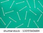 hygiene products  round white... | Shutterstock . vector #1335560684