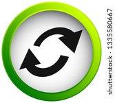 swap  flip icon. circular  oval ... | Shutterstock .eps vector #1335580667
