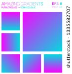 colorful gradients in hot... | Shutterstock .eps vector #1335582707