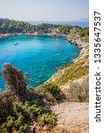 anthony quinn bay  faliraki ...   Shutterstock . vector #1335647537