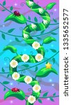 level background vertical... | Shutterstock .eps vector #1335652577