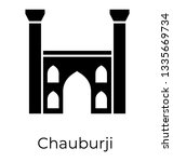 Glyph icon of  chauburji