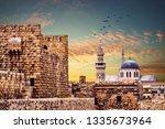 big umayyad Mosque of Damascus Syria