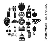 ale icons set. simple set of 25 ... | Shutterstock .eps vector #1335708827