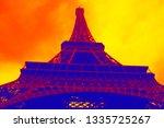 Eiffel Tower Against Dramatic...
