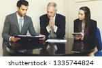 business people at work | Shutterstock . vector #1335744824