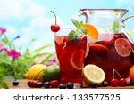 Refreshing Sangria  Punch  Wit...