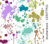 seamless pattern with blots on... | Shutterstock .eps vector #133577921
