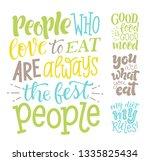 vector illustration set of... | Shutterstock .eps vector #1335825434
