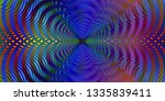 color spectrum glitch... | Shutterstock . vector #1335839411