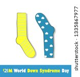 world down syndrome day | Shutterstock .eps vector #1335867977