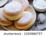 traditional german polish donut ... | Shutterstock . vector #1335880757