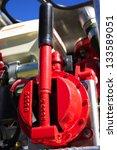 firetruck equipment | Shutterstock . vector #133589051