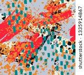 art abstract  seamless pattern  ... | Shutterstock .eps vector #1335914867