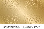 seamless vector golden texture... | Shutterstock .eps vector #1335921974