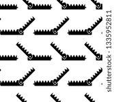 animal trap icon seamless... | Shutterstock .eps vector #1335952811