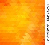 triangle background.  orange...   Shutterstock .eps vector #1335956921