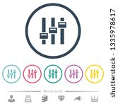 adjust flat color icons in... | Shutterstock .eps vector #1335978617