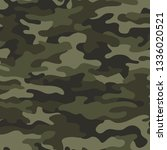 camouflage texture seamless...   Shutterstock .eps vector #1336020521