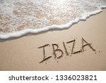 simple ibiza spanish holiday... | Shutterstock . vector #1336023821