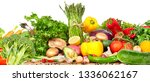 vegetables food background. | Shutterstock . vector #1336062167