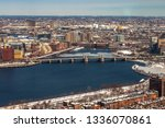 boston  usa  march 08  2019 ... | Shutterstock . vector #1336070861