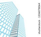 city architecture building  icon | Shutterstock .eps vector #1336078064