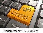 training and development ...   Shutterstock . vector #133608929
