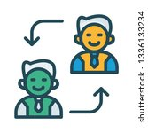 replace   employee   user   | Shutterstock .eps vector #1336133234