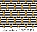 rope seamless tied fishnet... | Shutterstock .eps vector #1336135451