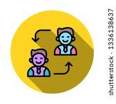 replace   employee   user   | Shutterstock .eps vector #1336138637