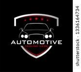 cars logo vector | Shutterstock .eps vector #1336164734