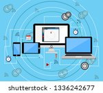 vector illustration of... | Shutterstock .eps vector #1336242677