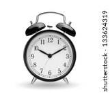 alarm clock on white background | Shutterstock . vector #133624319