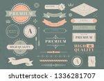 vintage high quality design... | Shutterstock .eps vector #1336281707