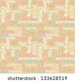 seamless vector pattern with... | Shutterstock .eps vector #133628519