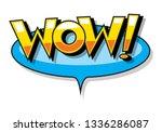 speech bubble  vector | Shutterstock .eps vector #1336286087