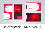 business card template.... | Shutterstock .eps vector #1336292684