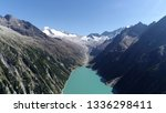 aerial photo of alps looking at ... | Shutterstock . vector #1336298411