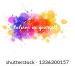 watercolor imitation background ...   Shutterstock .eps vector #1336300157