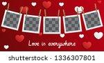 postcard happy valentines day... | Shutterstock .eps vector #1336307801