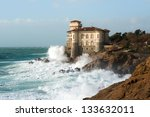 Boccale Castle In Tuscany Coast