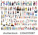 flat style kids set | Shutterstock .eps vector #1336355087