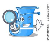 detective tuba isolated with in ...   Shutterstock .eps vector #1336386494