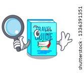detective travel guide book...   Shutterstock .eps vector #1336391351
