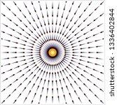 gravity field lines    Shutterstock .eps vector #1336402844