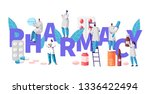 pharmacy business drug store... | Shutterstock .eps vector #1336422494