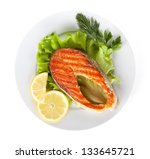 Grilled Salmon With Lemon...