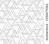geometric vector pattern ... | Shutterstock .eps vector #1336474361