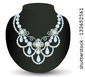 Illustration Necklace Women...